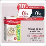 Bon Plan Francine : Farine de Blé à 0,15 € le paquet chez Intermarché - anti-crise.fr