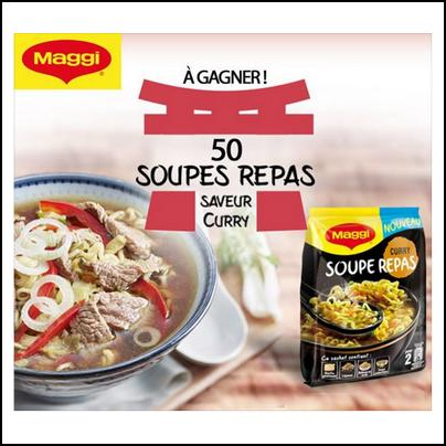 Tirage au Sort Maggi sur Facebook : Soupe Repas MAGGI® à Gagner - anti-crise.fr