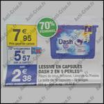 Bon Plan Dash : Lessive en Capsules 2 en 1 Perles Gratuite chez Carrefour Market - anti-crise.fr