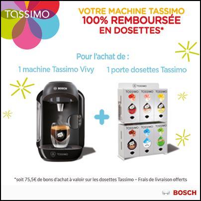 Offre de Remboursement Bosch : Votre Tassimo 100 % Remboursée en Bons - anti-crise.fr