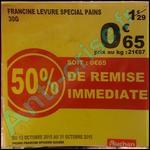 Bon Plan Francine : Levure Spécial Pains à 0,25 € chez Auchan - anti-crise.fr