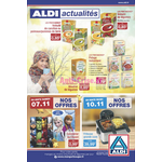 Catalogue Aldi du 7 au 10 novembre