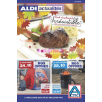 Catalogue Aldi du 24 au 28 octobre
