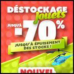 Bon Plan Déstockage de Jouets sur le site Auchan