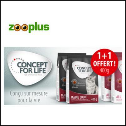 Bon Plan Zooplus :  400 g de Croquettes Offertes pour l'achat d'1 paquet de 400 g - anti-crise.fr