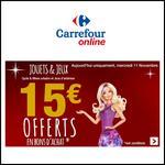 Bon Plan Carrefour : 15€ Offerts en BA par tranche de 75€ sur les Jouets , Cycles et les Jeux d'extérieur - anti-crise.fr