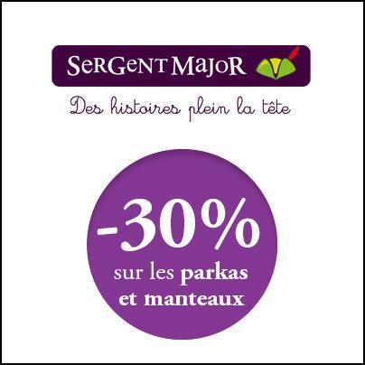 Bon Plan Sergent Major : 30 % sur les Manteaux et Parkas - anti-crise.fr
