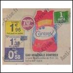 Bon Plan Contrex : Pack de 4 Bouteilles à 0,18 € Chez Carrefour Market - anti-crise.fr