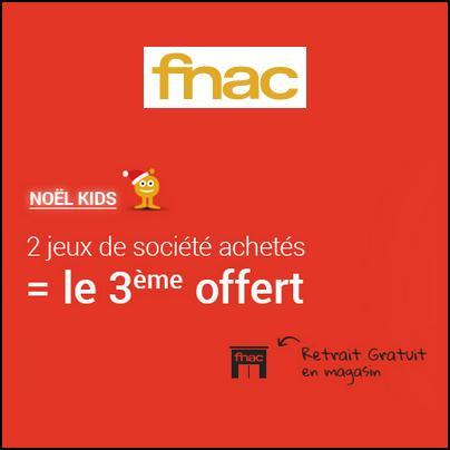 Bon Plan Fnac : 2 Jeux de Société Achetés = Le 3ème Offert - anti-crise.fr