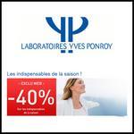 Bon Plan Yves Ponroy : - 40 % et Livraison Offerte - anti-crise.fr