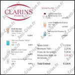 Bon Plan Clarins : 4 Produits + 3 Echantillons pour 13,50 € seulement !!! - anti-crise.fr
