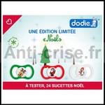 Test de produit ConsoBaby : Sucette Dodie AIR Edition Limitée Noël - anti-crise.fr
