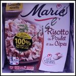 Offre de Remboursement Marie: Risotto Poulet et Cèpes 100 % Remboursé - ani-crise.fr