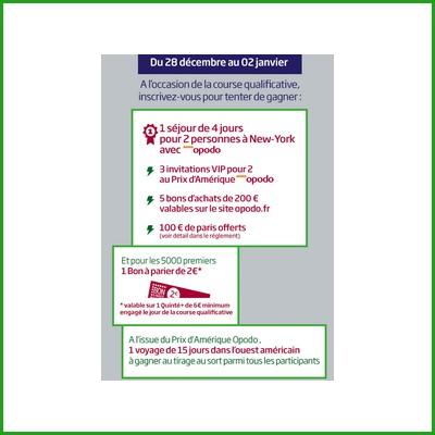 Tirage au sort PMU : 1 séjour de 4 jours à New York pour 2 personnes à gagner ! anti-crise.fr