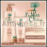 Test de Produit Beauté Test : Duo Lait Corps et Crème Mains Réparateur le Petit Olivier - anti-crise.fr
