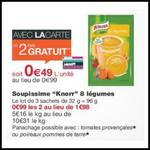 Bon Plan Knorr : 2 Sachets Soupissime Gratuits chez Monoprix - ant-crise.fr
