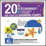 Bon Plan Delpierre : Saumon Fumé 8 Tranches à moins d'1 € chez Carrefour - anti-crise.fr