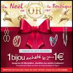 Bon Plan Jean Delatour : 1 Bijou acheté, le 2ème à 1 € + Livraison Offerte - anti-crise.fr