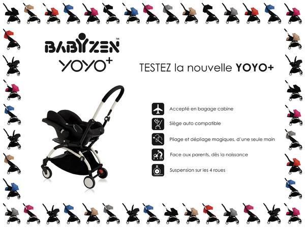 Test de Produit Conso Baby : Poussette YOYO+ Babyzen - anti-crise.fr