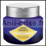 Test de Produit Au Féminin : Crème Précieuse Immortelle de L'OCCITANE - anti-crise.fr