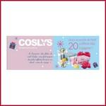 Tirage au sort Facebook Coslys : 20 coffrets de Noël à gagner ! anti-crise.fr