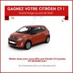 Tirage au sort Facebook Mister Auto : Citroën à gagner ! anti-crise.fr