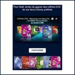 Tirage au sort Facebook Disney : DVD à gagner ! anti-crise.fr