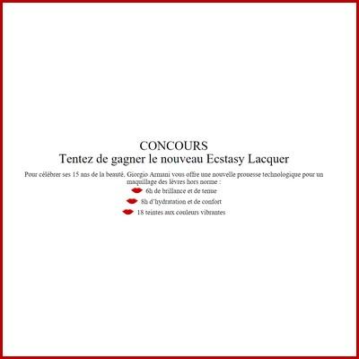 Tirage au sort Vogue Armani : Ecstasy Laquer PGHT 2015 à gagner ! anti-crise.fr