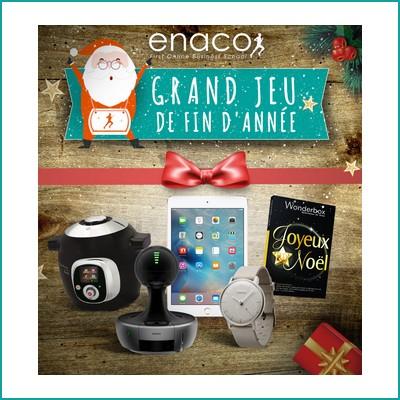 Tirage au sort facebook Enaco : Ipad à gagner ! anti-crise.fr