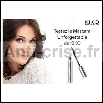 Test de Produit Miss Test  : Mascara Unforgettable de KIKO - anti-crise.fr