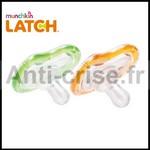 Test de Produit ConsoBaby : Sucette LATCH de Munchkin - anti-crise.fr