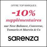 Bon Plan Sarenza : -10% en plus sur une Sélection - anti-crise.fr