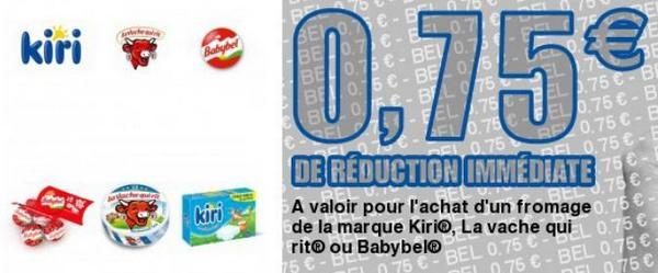 Bon de Réduction Bel de 0,75 € - anti-crise.fr