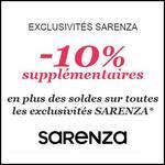 Bon Plan Sarenza : - 10 % supplémentaires sur les Soldes - anti-crise.fr