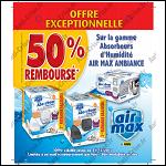 Offre de Remboursement Air Max : 50% Remboursé sur la Gamme Air Max Ambiance - anti-crise.fr