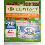 Catalogue Carrefour Contact du 27 au 31 janvier
