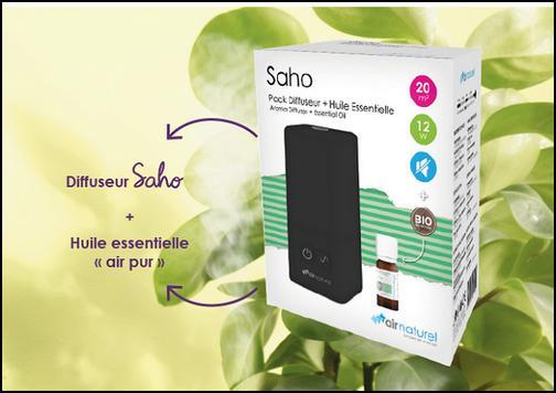 Test de Produit Sampleo : Diffuseur d'huiles essentielles Air Naturel - anti-crise.fr
