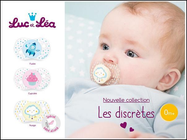 Test de produit Conso Baby : Sucette Les Discrètes Luc et Léa - anti-crise.fr