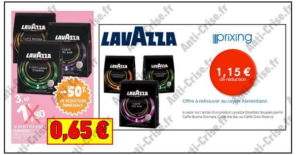 Bon Plan Lavazza : Paquet de Café 36 Dosettes Souples à 0,65 € chez Leclerc Centre-Est - anti-crise.fr