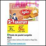 Bon Plan Iglo : 3 Boîtes de Nuggets de Poulet à 1,52 € chez Carrefour - anti-crise.fr