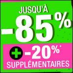 Bon Plan Excedence : -85 % + -20% suppl. + -20% suppl. + Livraison Offerte dès 49€ ! - anti-crise.fr