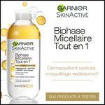 Test de Produit Beauté Test : SkinActive Biphase Micellaire Tout en 1 de Garnier - anti-crise.fr