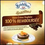 Offre de Remboursement Bridélice : Crème Anglaise 100 % Remboursée si achat de 2 Tablettes de Chocolat - anti-crise.fr