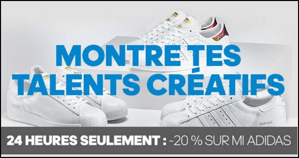 Bon Plan Adidas : -20% sur Mi Adidas - anti-crise.fr