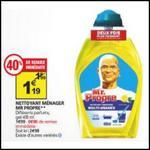 Bon Plan Mr Propre : Gel Nettoyant Gratuit chez Auchan - anti-crise.fr
