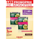 Catalogue Monoprix du 16 au 28 mars