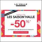 Bon Plan La Halle : Promotions jusqu'à -50% - anti-crise.fr