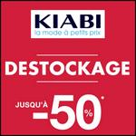 Bon Plan Kiabi : Destockage Jusqu'à -50% - anti-crise.fr