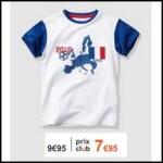 Bon Plan Verbaudet : 7€95 le t-shirt de foot pour les champions - anti-crise.fr