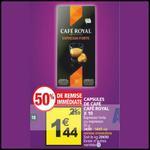 Bon Plan Café Royal : La Boîte de 10 Capsules à 0,44€ chez Auchan - anti-crise.fr